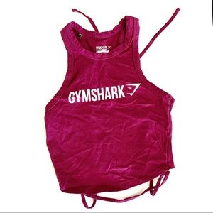 Gymshark Ribbon Crop Top